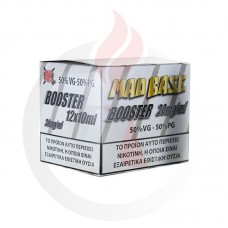 Mad Juice Nicotine Booster 50/50 12X10ml 20mg
