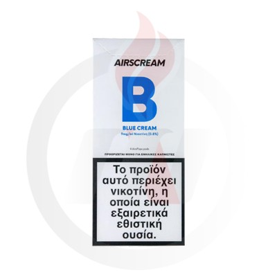 AirScream Pops Blue Cream 4 x 1.2ml