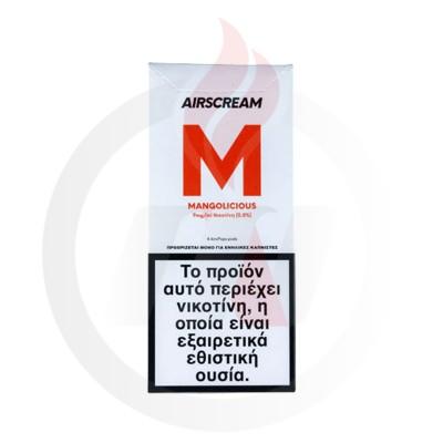 AirScream Pops Mangolicious 4 x 1.2ml