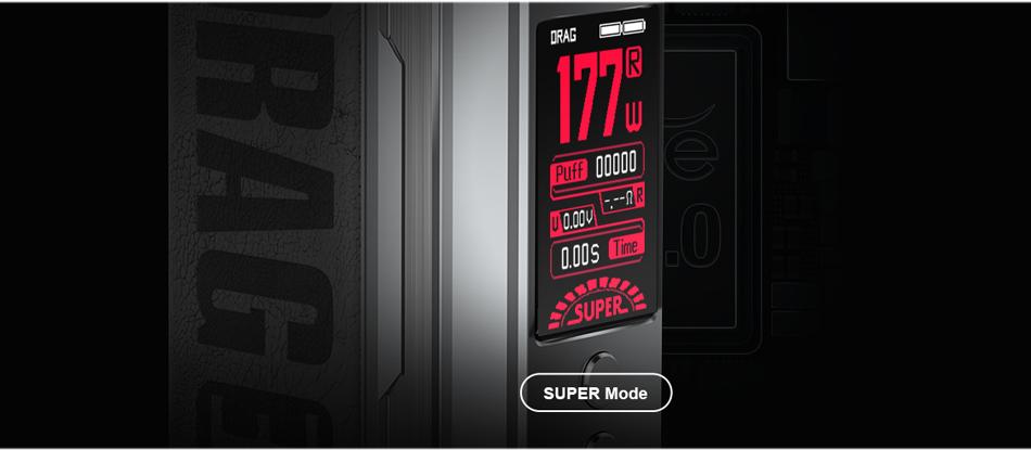 voopoo drag 3 mistvape slider 02 - Drag 3 177W Mod